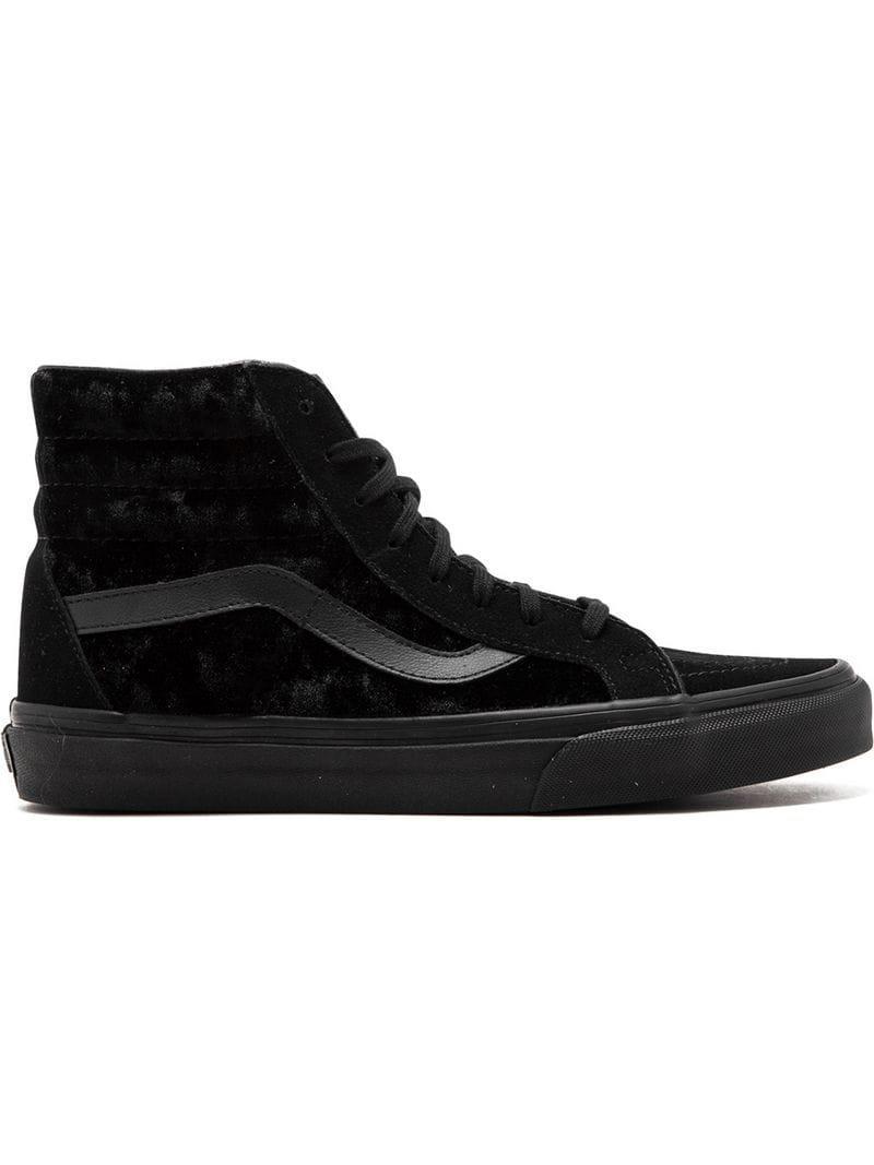 7d51165fac2ed4 Lyst - Vans Sk8-hi Reissue Sneakers in Black for Men