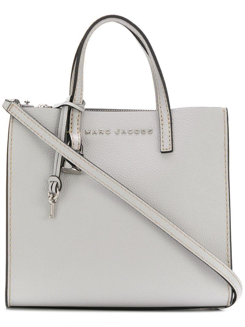 603fb656067b Marc Jacobs - Gray Mini Grind Tote - Lyst. View fullscreen