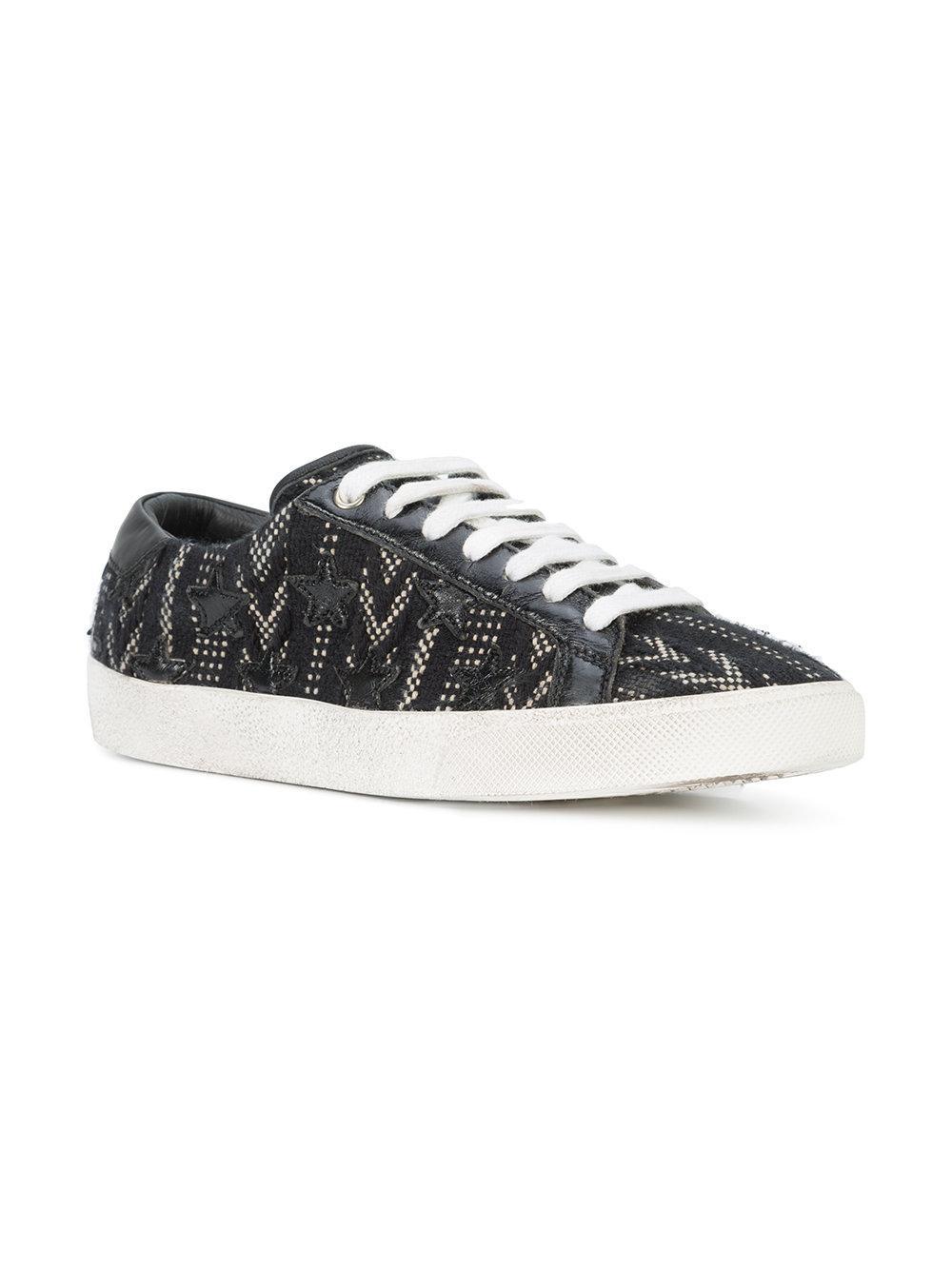 huge selection of 58958 7740a saint-laurent-Black-Berber-Signature-Court-Classic-Sneakers.jpeg