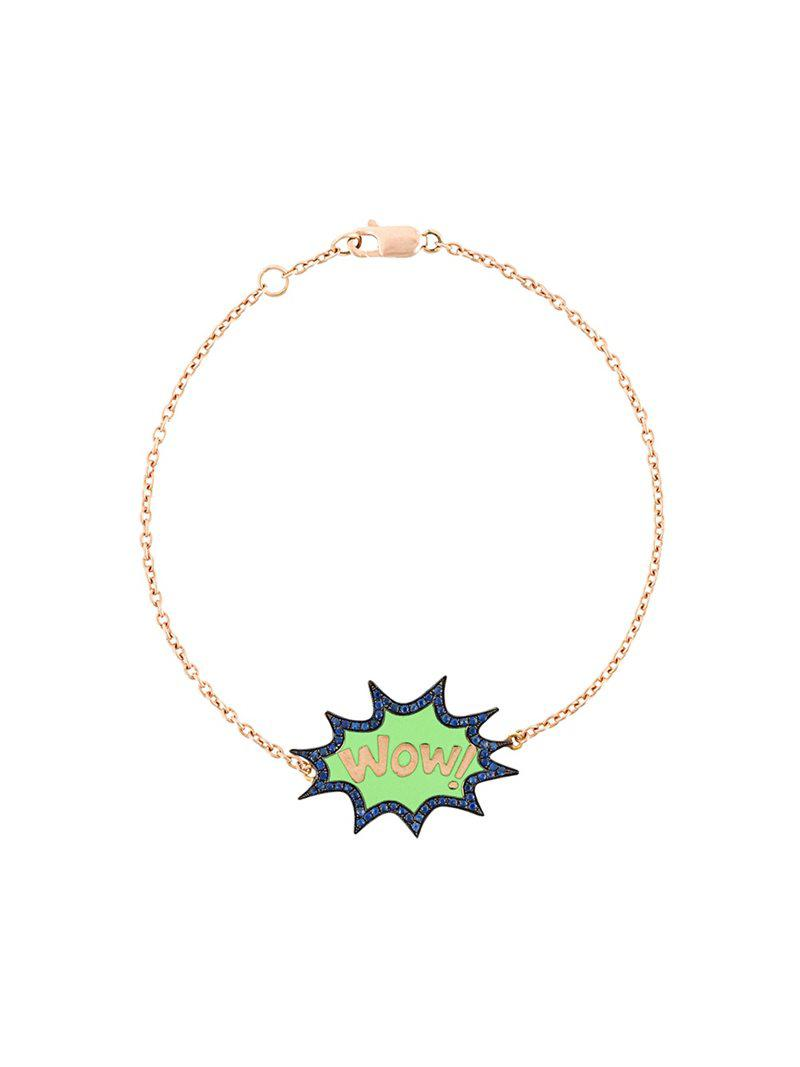 Monan Boom diamond bracelet - Metallic GZaOHi