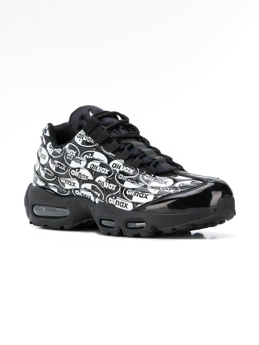 86604a3435 Nike Air Max 95 Premium Sneakers in Black for Men - Lyst