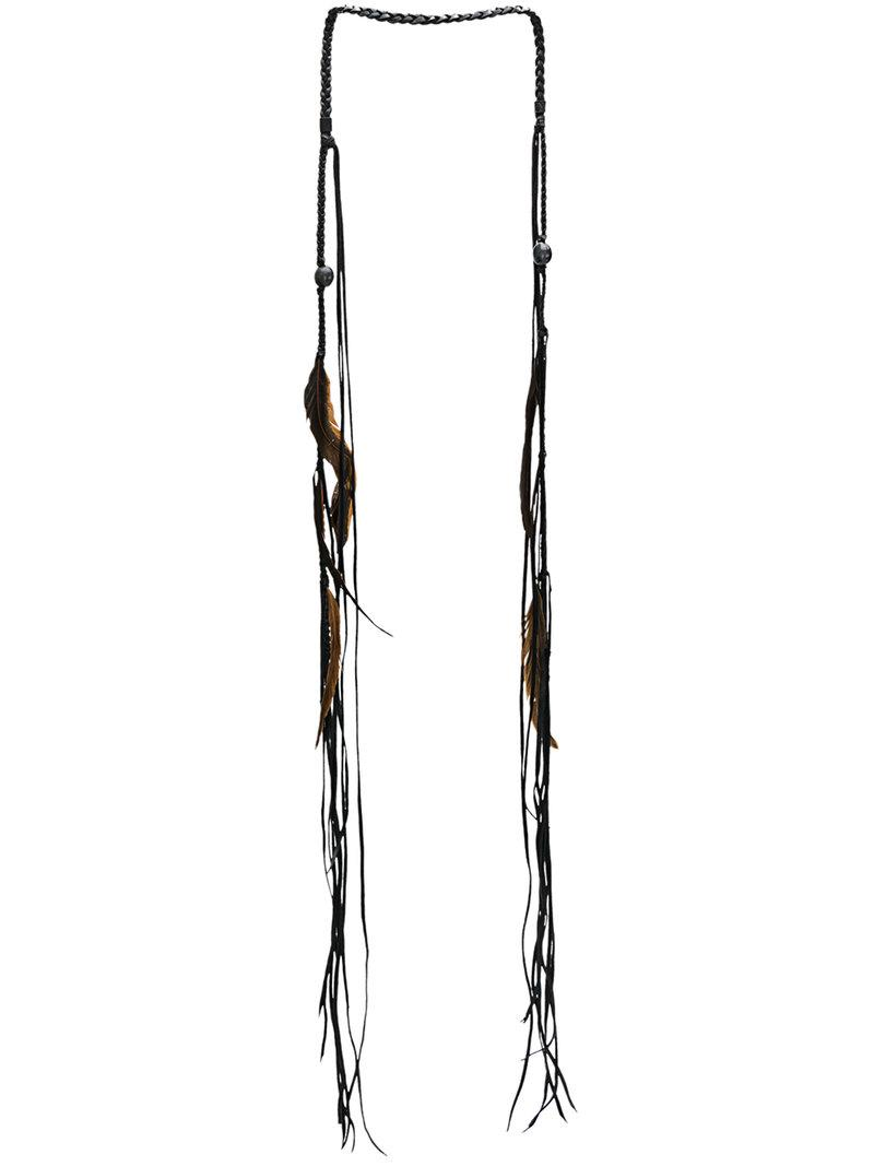Caravana Kosom necklace - Black NVzbdR0