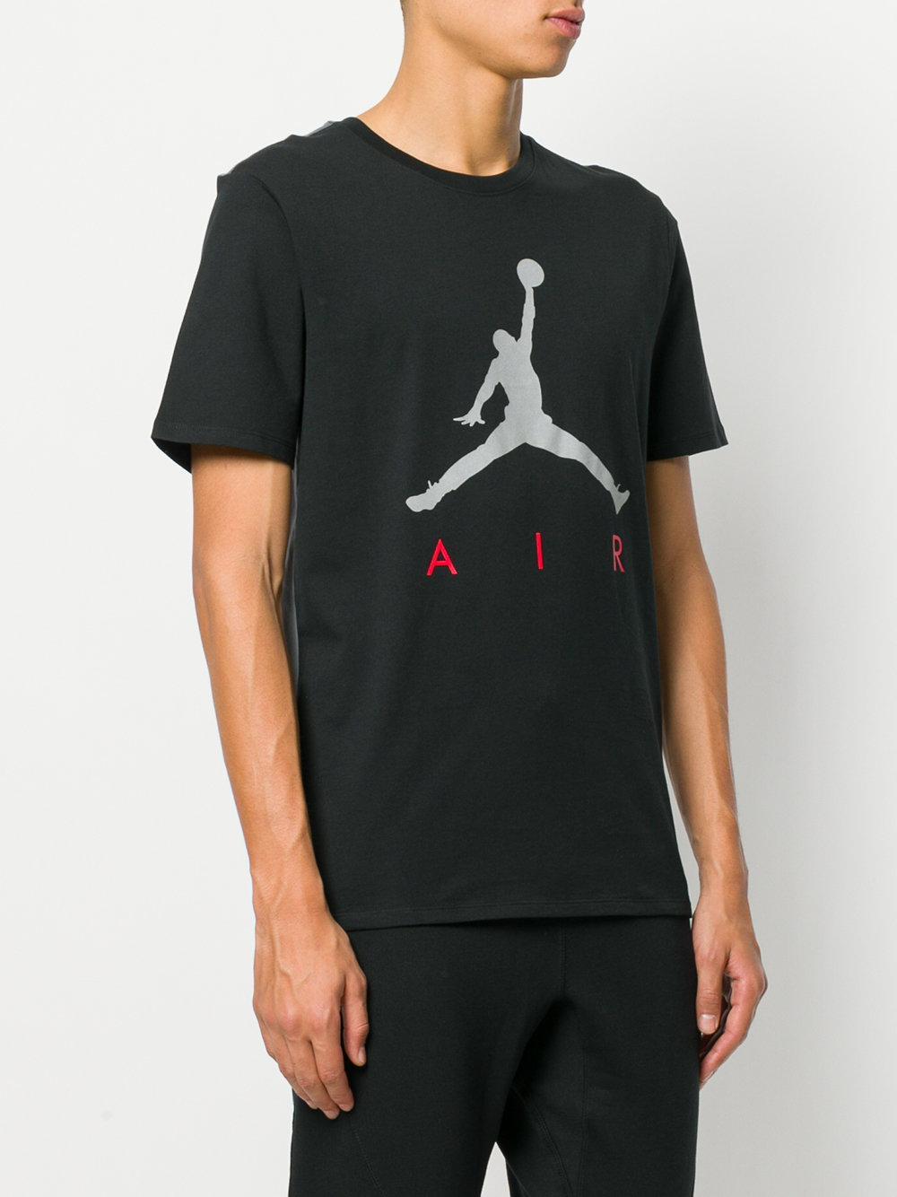 c20b5fe29244 Lyst - Nike Jumpman Air Printed T-shirt in Black for Men