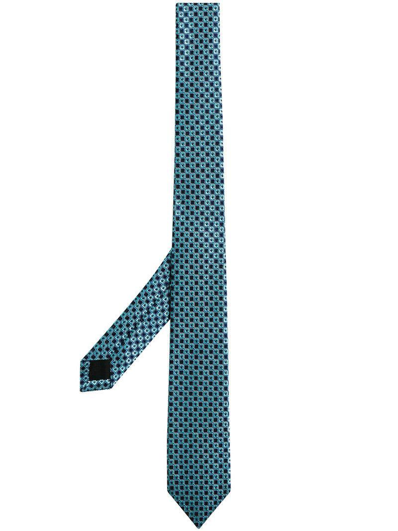 Mince Coupe Cravate Jacquard De Soie Marguerite - Burberry Rose Et Violet ygYIl28pw