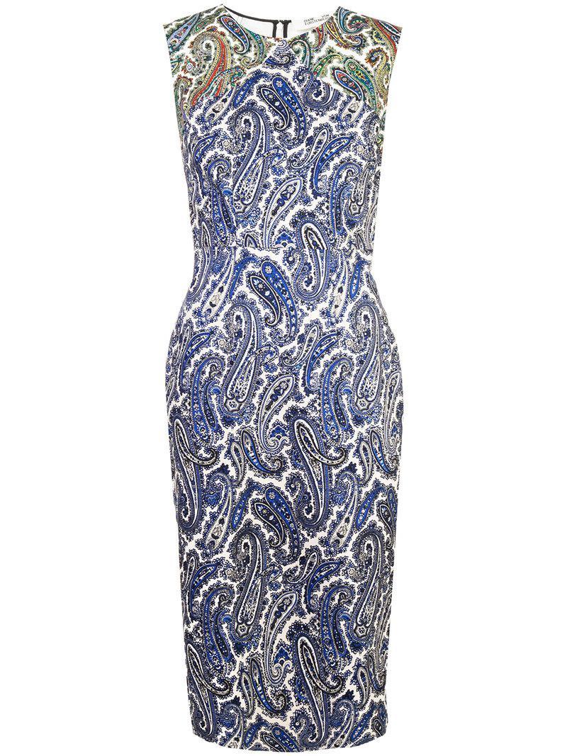 Discount 2018 Very Cheap paisley dress - Multicolour Diane Von Fürstenberg Free Shipping 2018 New Discount Best Store To Get bLETq8sB