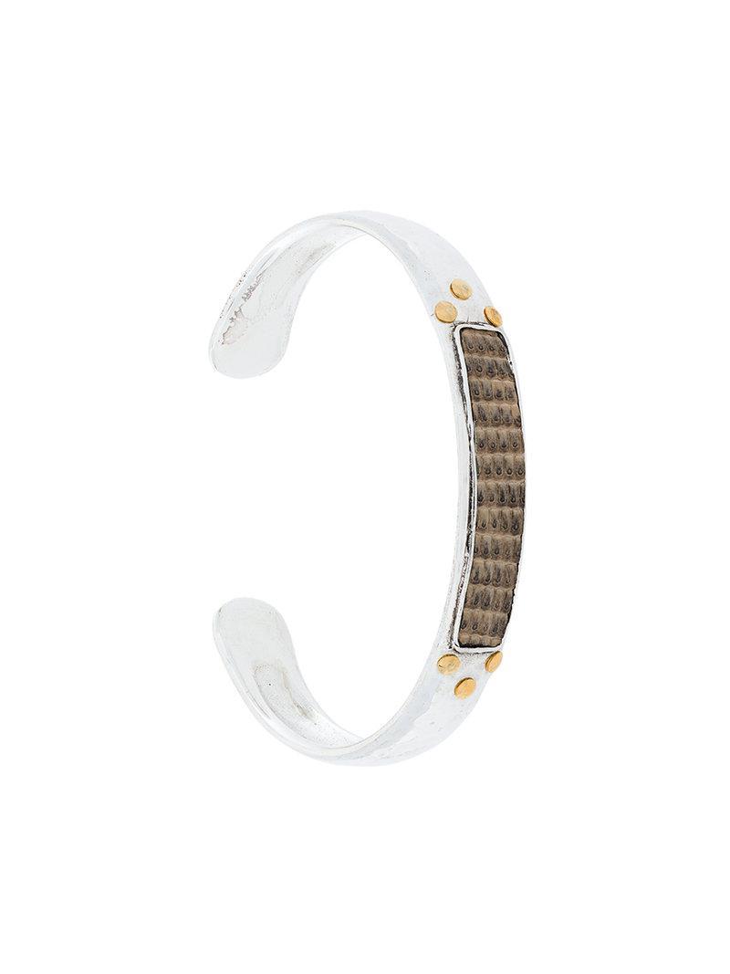 Matis bracelet - Metallic Gas Bijoux R7l8h2B