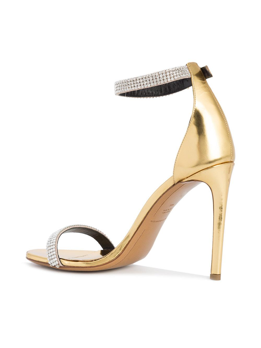 Alexandre Vauthier rhinestone embellished sandals pay with visa for sale wiki cheap wholesale price best seller 9KKpRA0ZVx