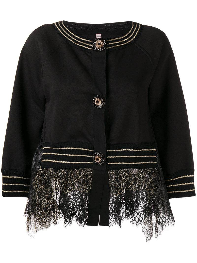 100% Authentic Antonio Marras lace detail jacket Buy Cheap Cost Free Shipping Visit New 1eot80