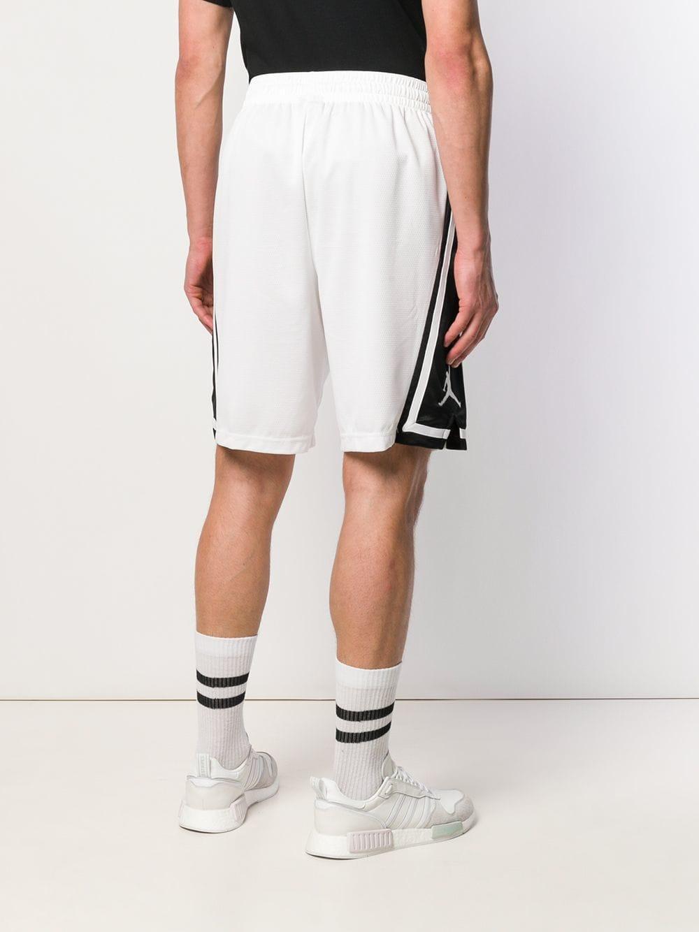 776335fda0d Nike Jordan Franchise Basketball Shorts in White for Men - Lyst