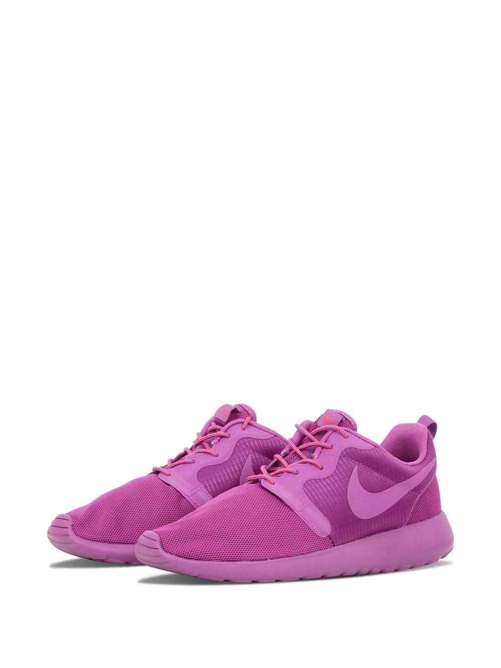 Nike Rosherun Hyperfuse Sneakers in Purple Lyst