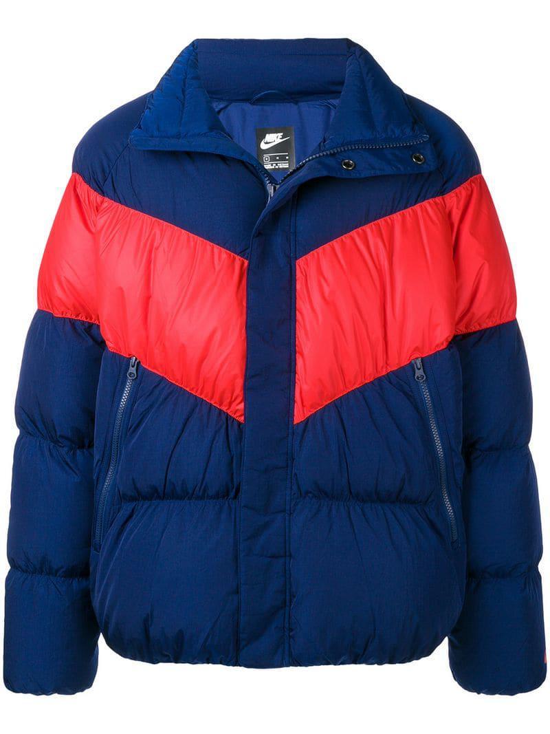 f47b97df9f33 Lyst - Nike Padded Jacket in Blue for Men