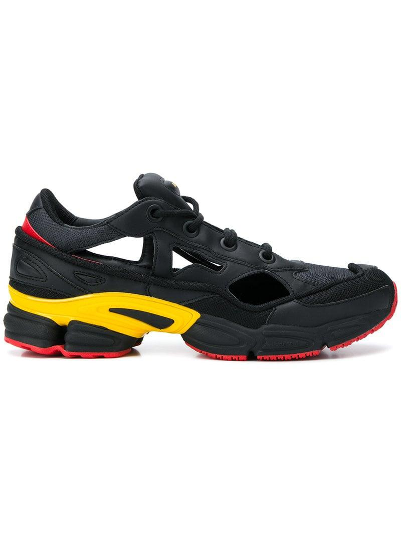 83b3c0eb057 Lyst - adidas By Raf Simons Replicant Ozweego Sneakers in Black for Men