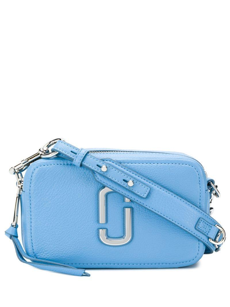 a878d0d5bf76 Lyst - Marc Jacobs Snapshot Small Camera Bag in Blue