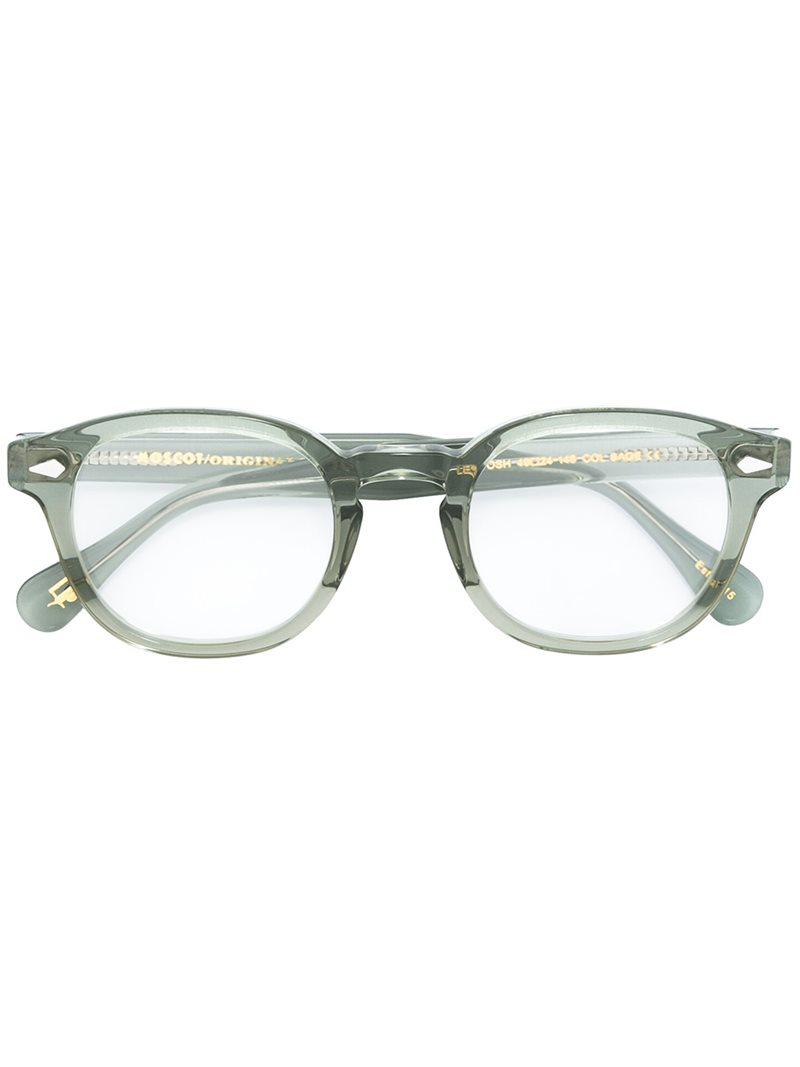 5a5b5780f04 Moscot Lemtosh 49 Glasses in Green - Lyst