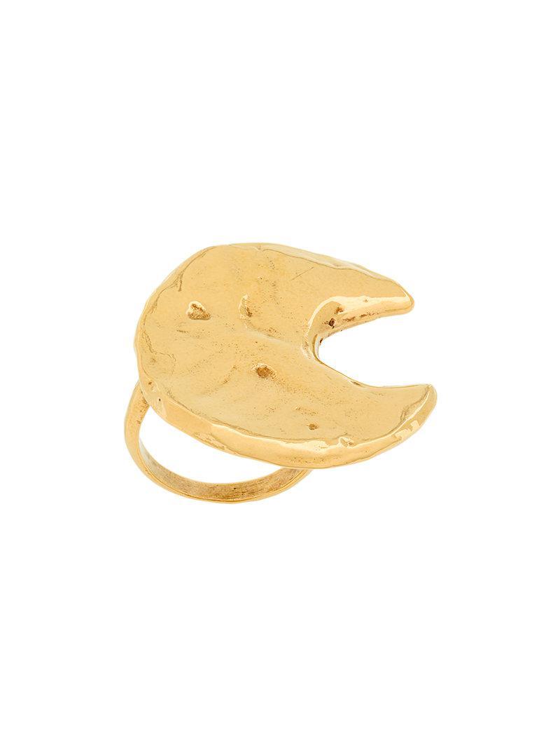 Givenchy Astral Moon ring - Metallic fDGUV0