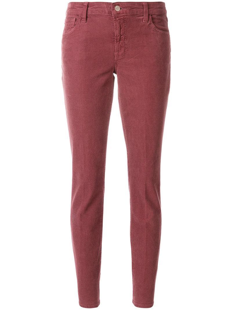 Mauve trousers - Pink & Purple J Brand Clearance Online Amazon Get Authentic Online 9T7jzgMp5
