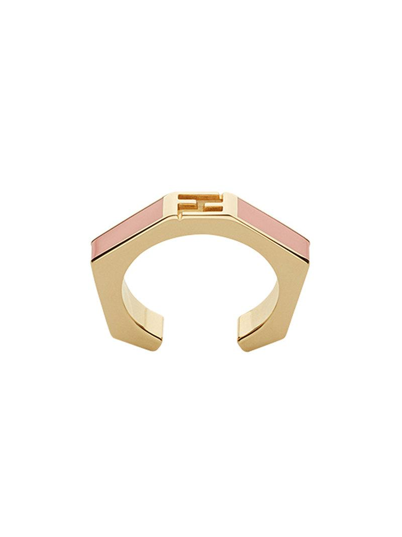 Fendi Baguette ring - Metallic xitlOtI19q