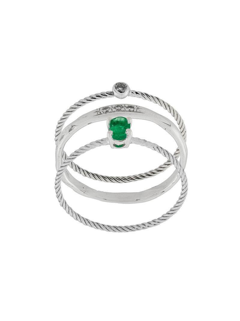 Wouters & Hendrix emerald ring - Unavailable RlQTODQGa1