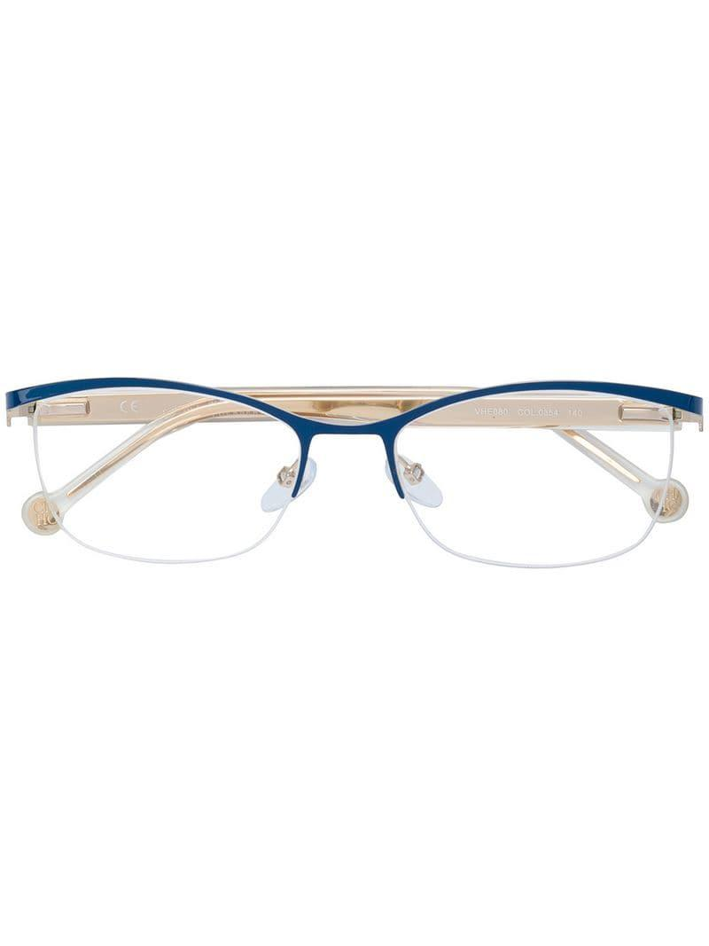 61bbb0fbcc CH by Carolina Herrera Rectangular Shape Glasses - Save 1% - Lyst