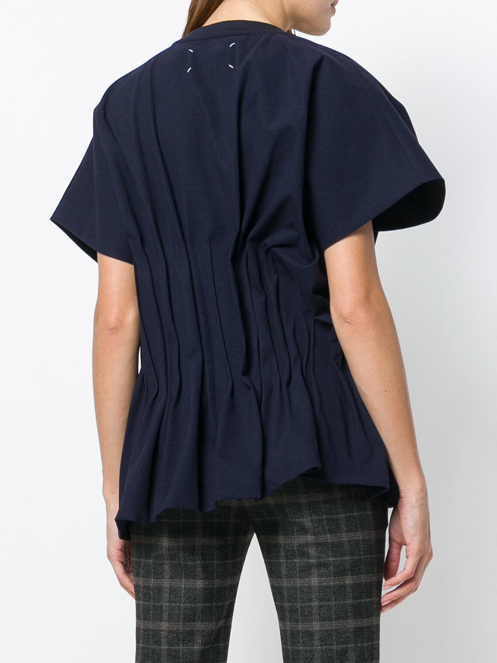 Sale 100% Original Finishline Sale Online ruched waist shirt - Green Maison Martin Margiela Outlet Very Cheap Buy Authentic Online IuNCCNRTJU