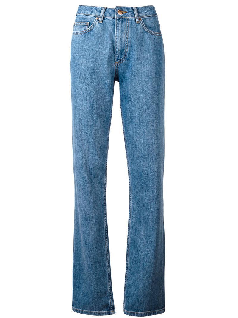 wide-leg jeans - Blue AALTO hA99qgiglZ