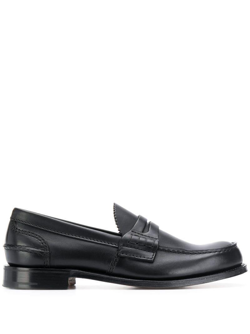 590734a5c92 Church s Pembrey Penny Loafers in Black for Men - Lyst