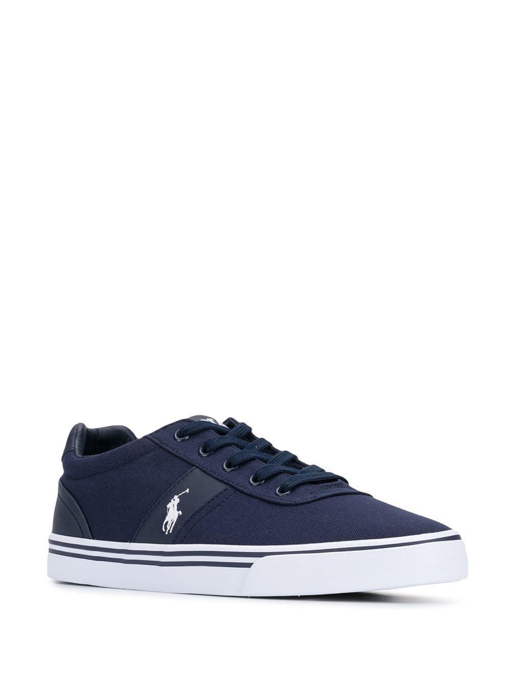 d54cfbc0fd0e8b Lyst - Polo Ralph Lauren Hanford Low-top Sneakers in Blue for Men