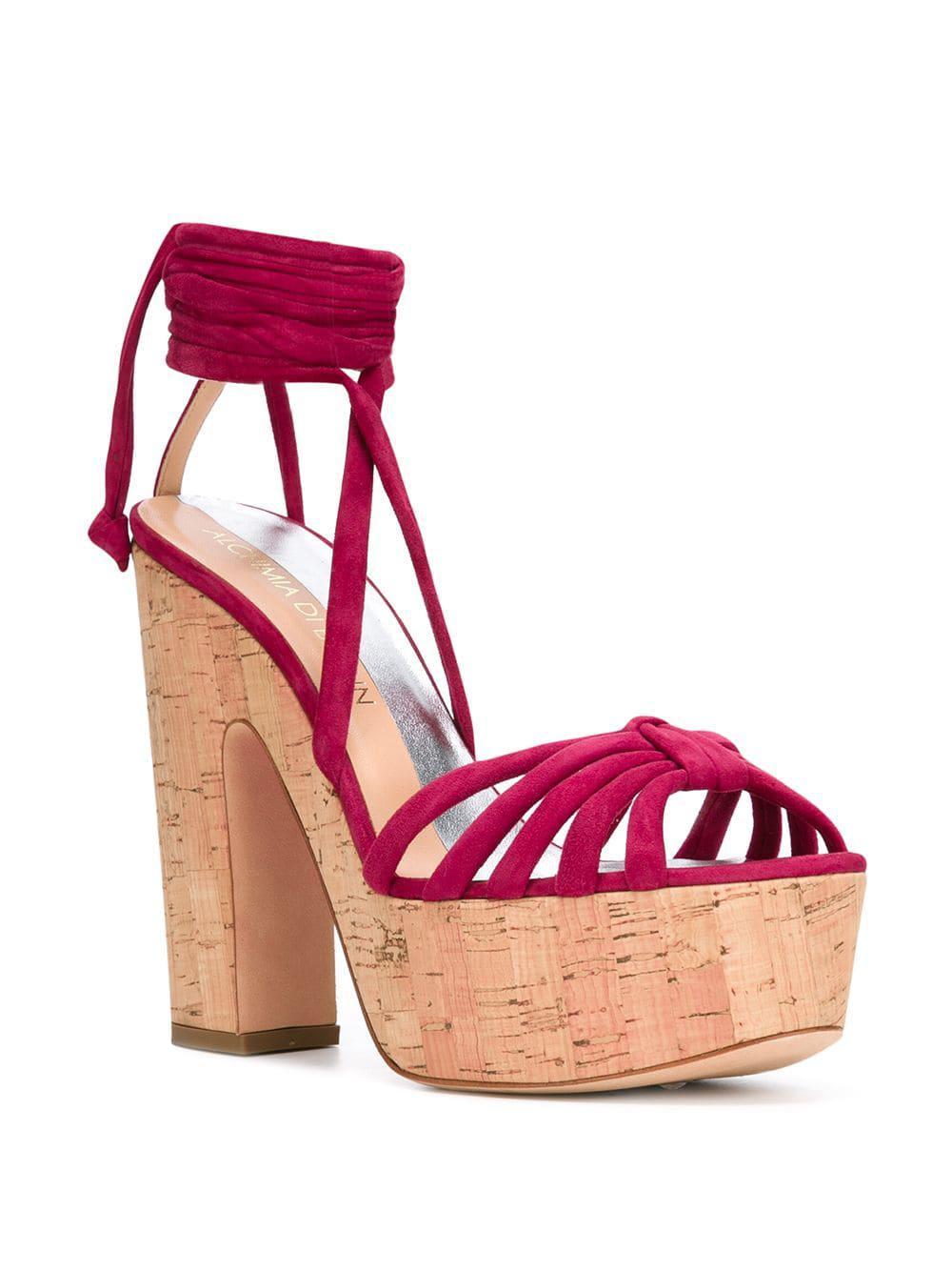 82458f5de3e Lyst - Alchimia Di Ballin Platform Sandals in Pink - Save  0.7518796992481214%