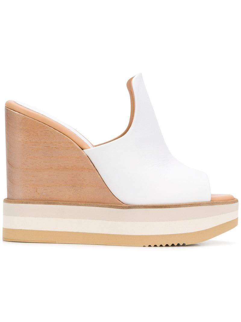 d0119de1db8 Lyst - Paloma Barceló Ayumi Sandals in White
