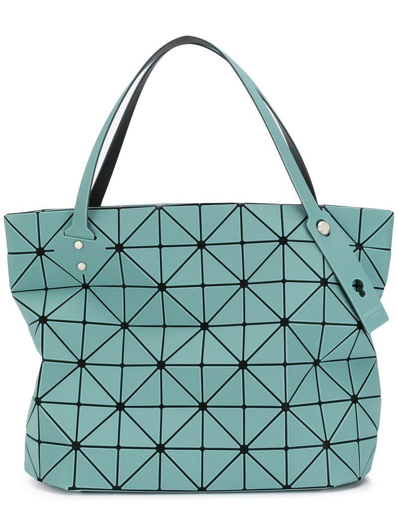 Lyst - Bao Bao Issey Miyake Rock Lucent Frost Tote Bag in Green 67adbfc5d066b