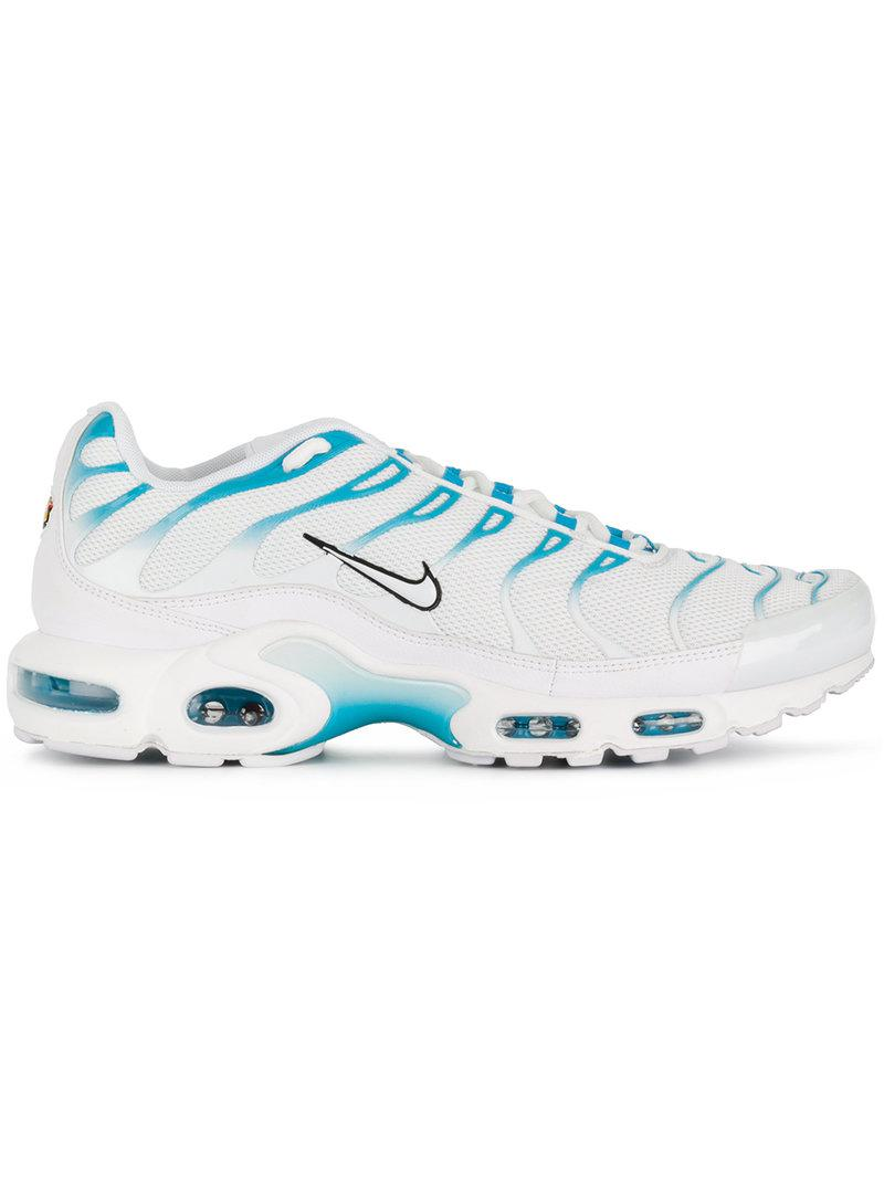 dfde8f1490cc0 Lyst - Nike Air Max Plus Tn  blue Fury  Sneakers in White for Men