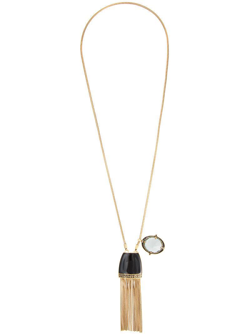 Camila Klein hanging chains scapular - Metallic g0DlsVJd