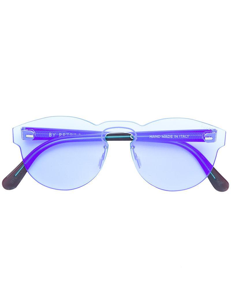 fc94668eb443 Retrosuperfuture Screen Paloma Blue Sunglasses in Blue - Lyst