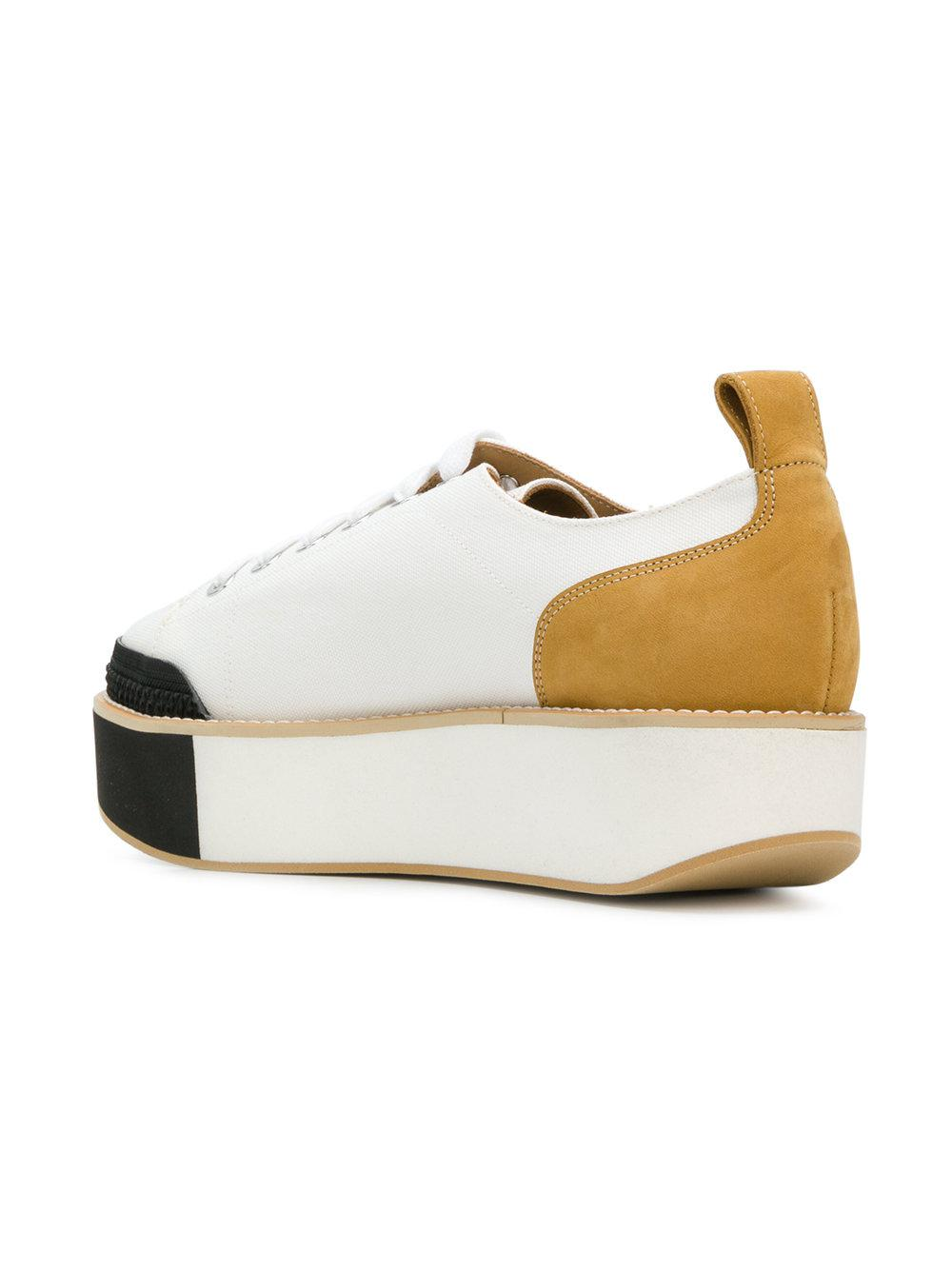 clearance get to buy free shipping fashion Style Flamingos block heel lace-up sneakers pay with visa cheap price discount Manchester for sale very cheap zk8E0xdjp