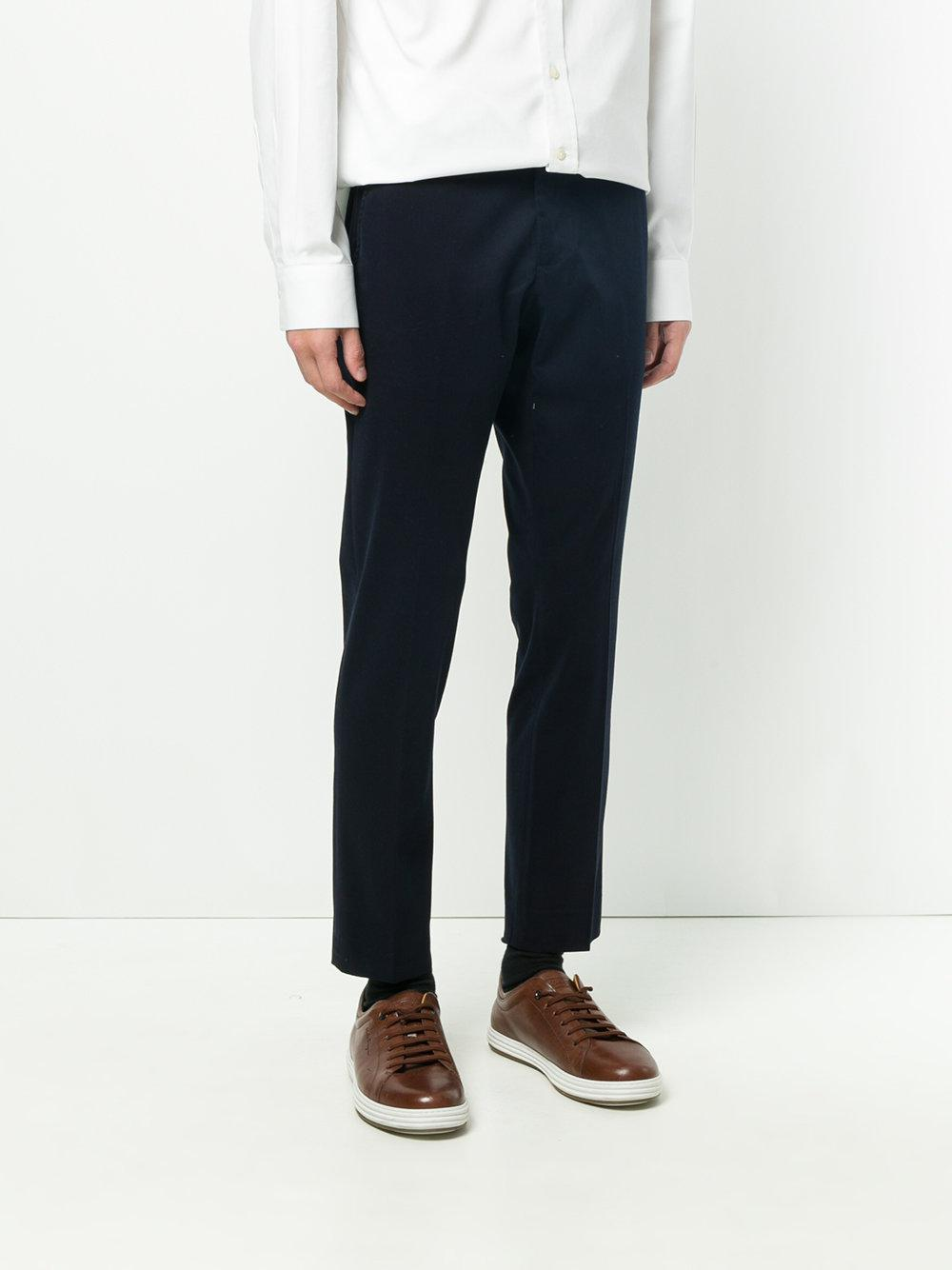 straight fit trousers - Blue Entre Amis Supply For Sale Release Dates Low Cost Cheap Price High Quality Online Cheap Pay With Paypal QNZoT7JHX