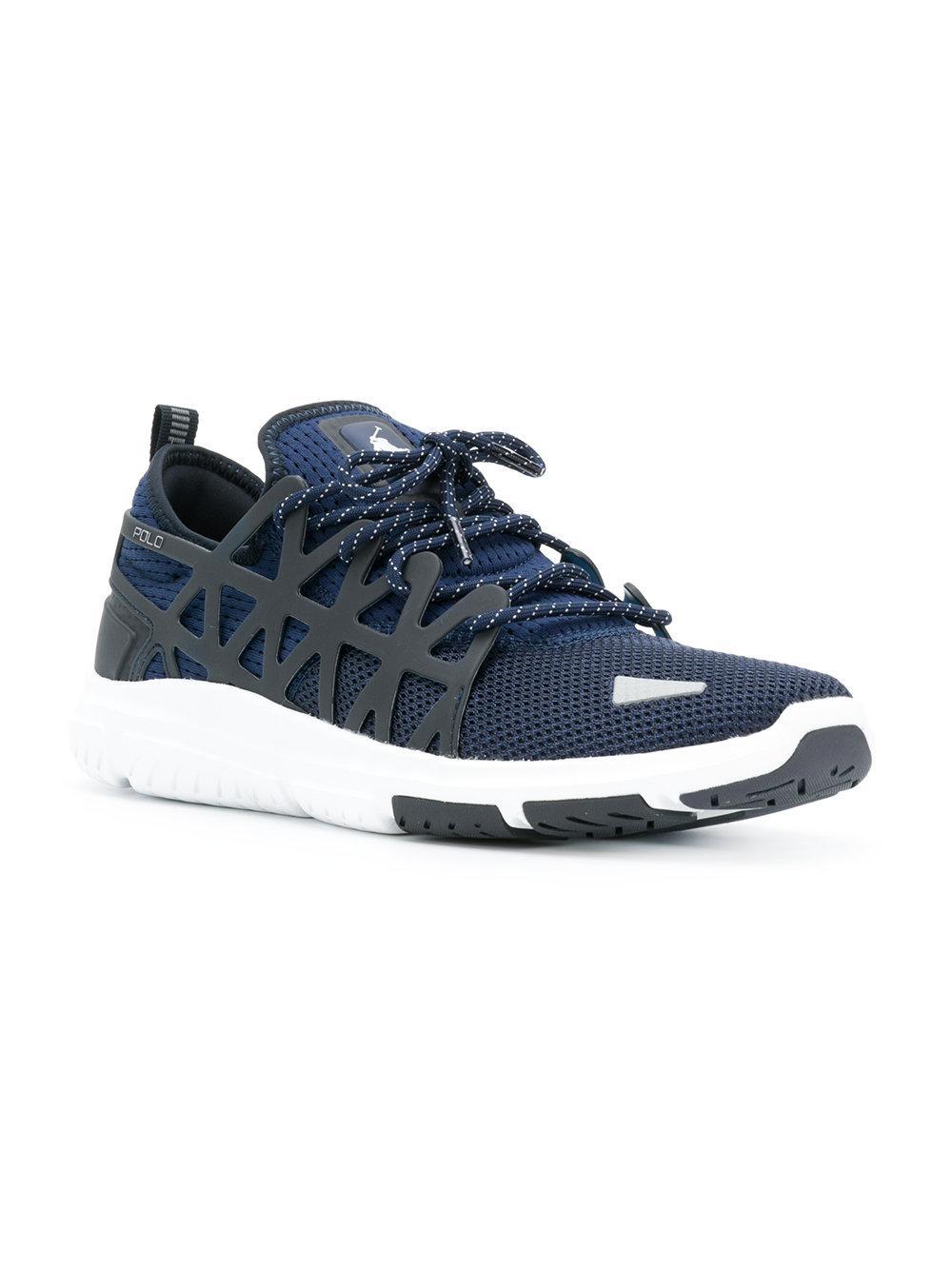 94fc774d6ec458 Polo Ralph Lauren Train 200 Sneakers in Blue for Men - Lyst