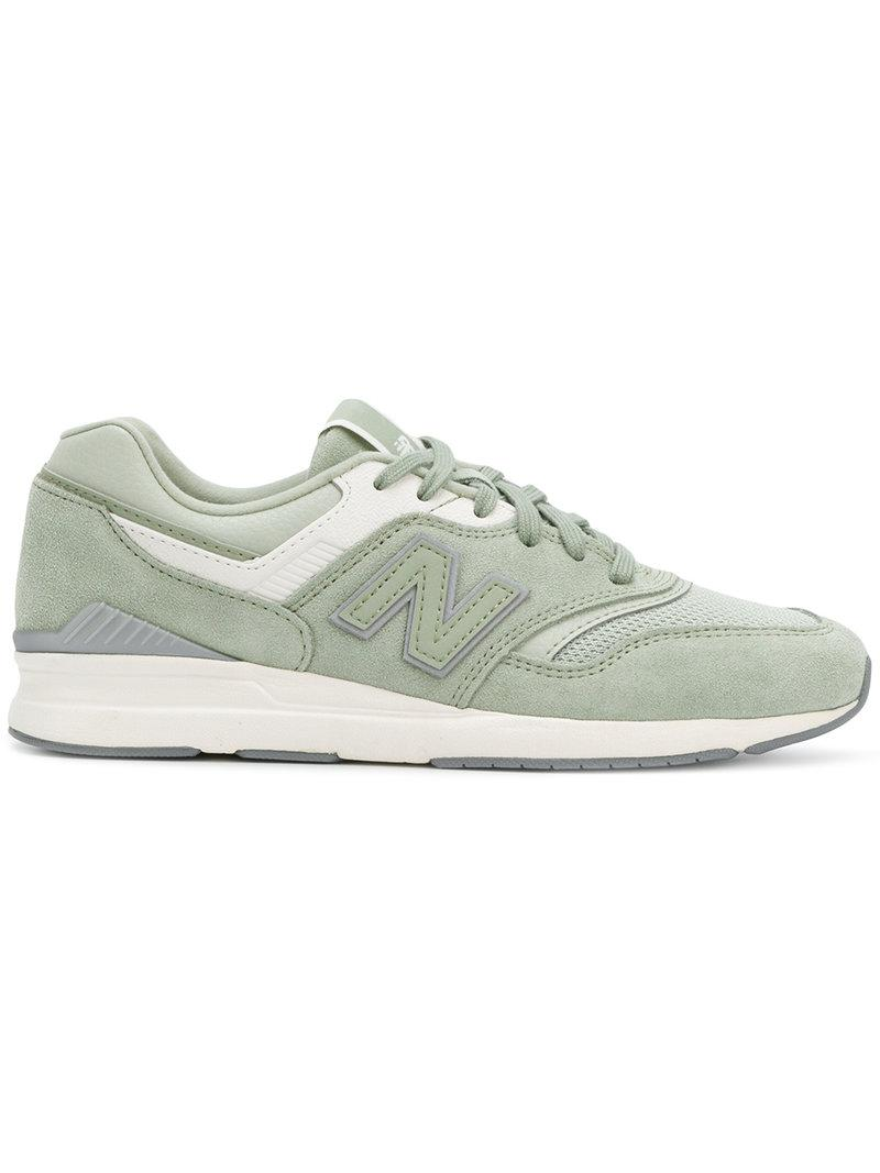new style 746c1 a59e9 New Balance 697 Sneakers in Green - Lyst
