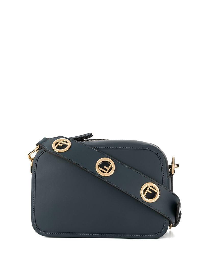 4f51923adc Lyst - Fendi Camera Bag in Blue