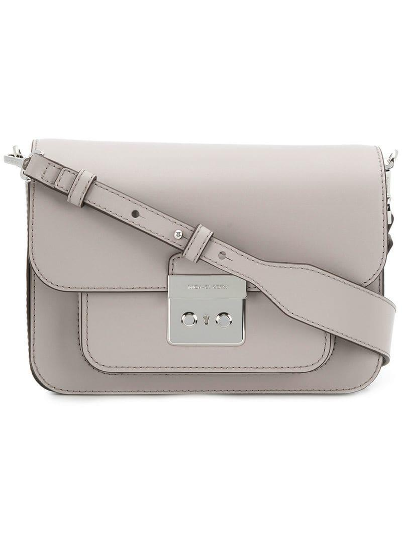 968e305ad022 Lyst - MICHAEL Michael Kors Sloan Editor Shoulder Bag in Gray