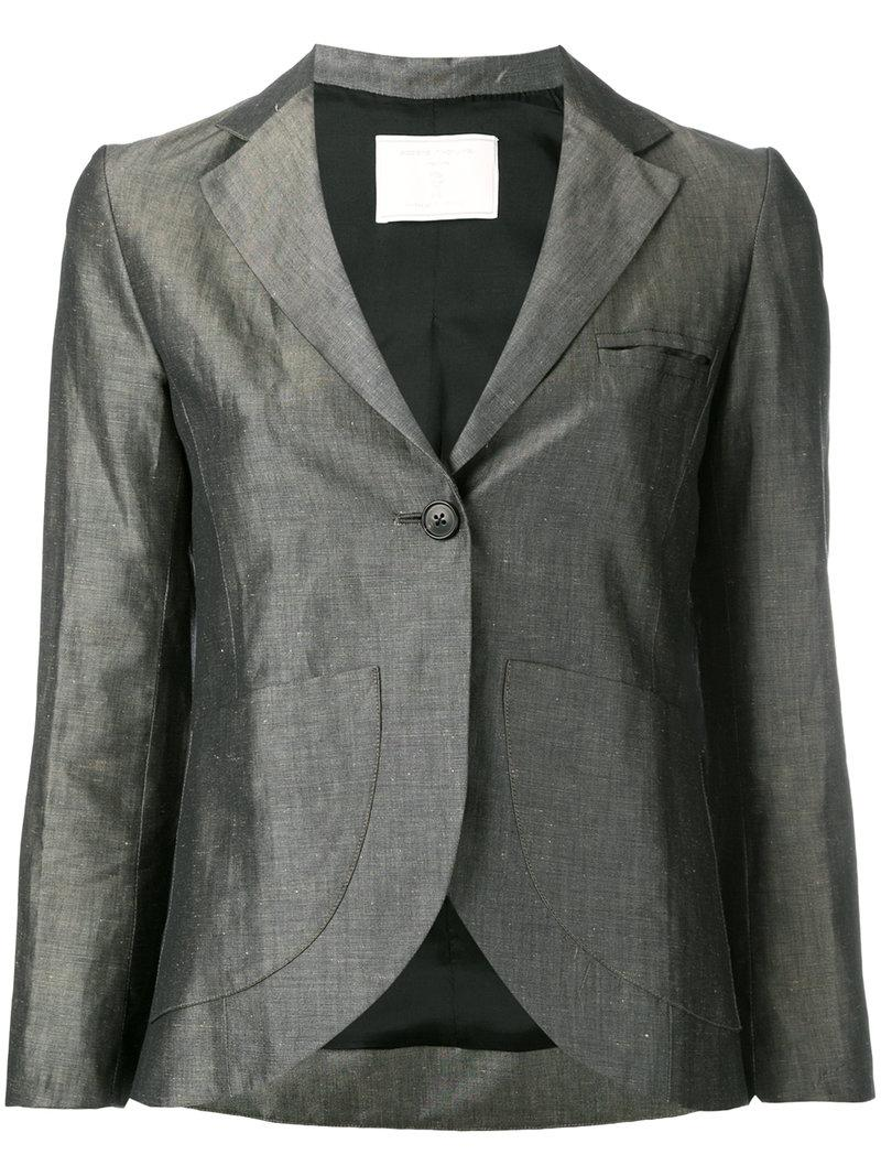 Lyst Societe Anonyme Vendome Blazer In Gray