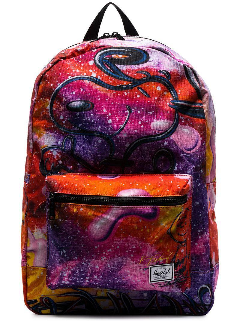 343868599d1 Lyst en Co à Snoopy Supply coloris Herschel dos Violet Sac rB0wqRr