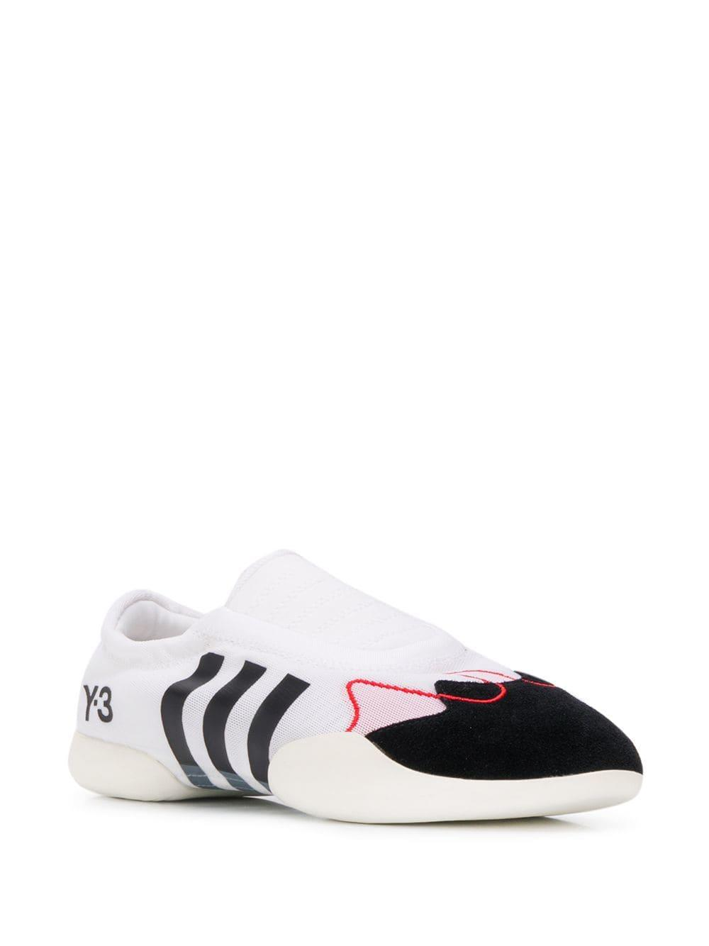 brand new b6ebd ca0f5 Y-3 Knitted Sneakers in White - Lyst