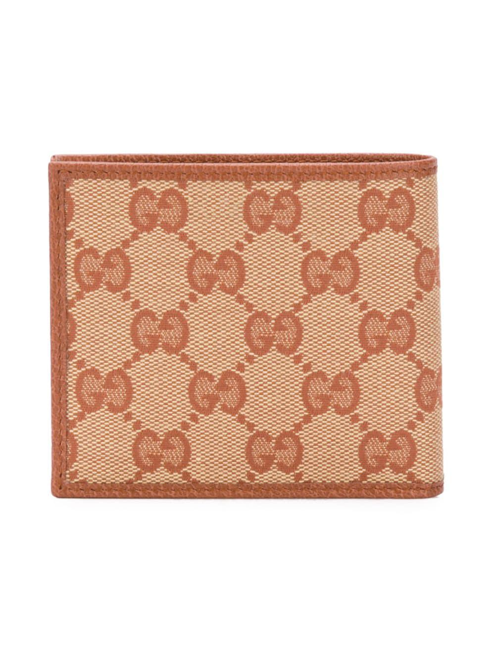 a815571ec426 Gucci New York Yankees Patch Wallet in Brown for Men - Save 18% - Lyst