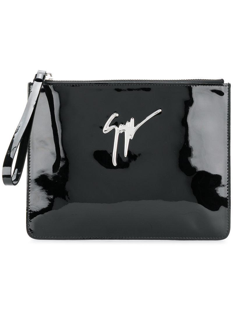 Giuseppe Zanotti Pre-owned - Ponyhair-style calfskin clutch bag OwkaFpyiC