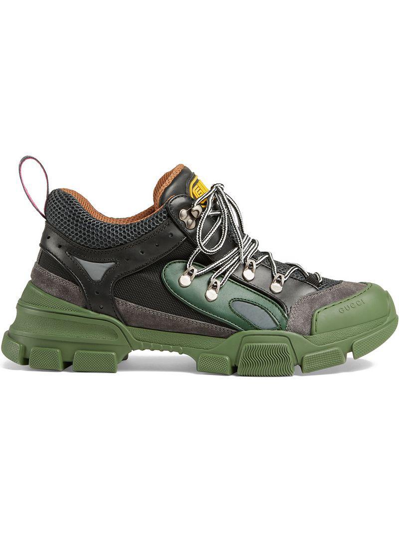 ff45f491f81 Gucci - Black Flashtrek Sneakers for Men - Lyst. View fullscreen