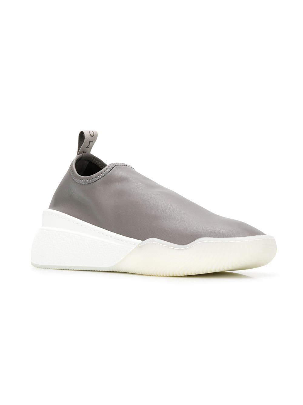 aa2bffdb0f3b Lyst - Stella McCartney Loop Sneakers in Gray - Save 70%