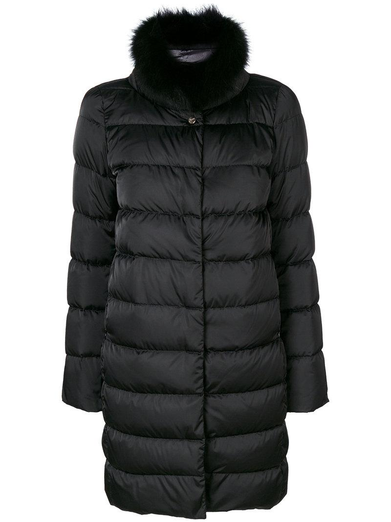 Lyst Herno Classic Puffer Coat In Black