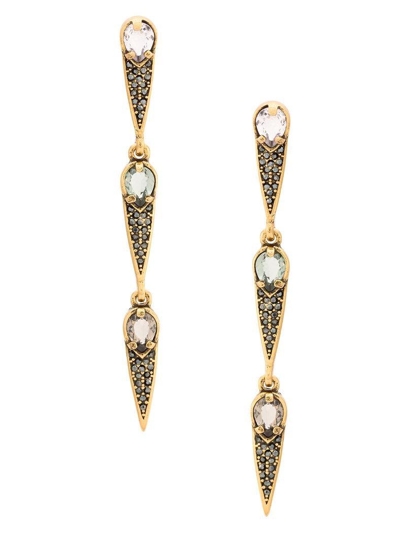 Camila Klein Longo Gotas Ouro earrings - Metallic gMwTyF