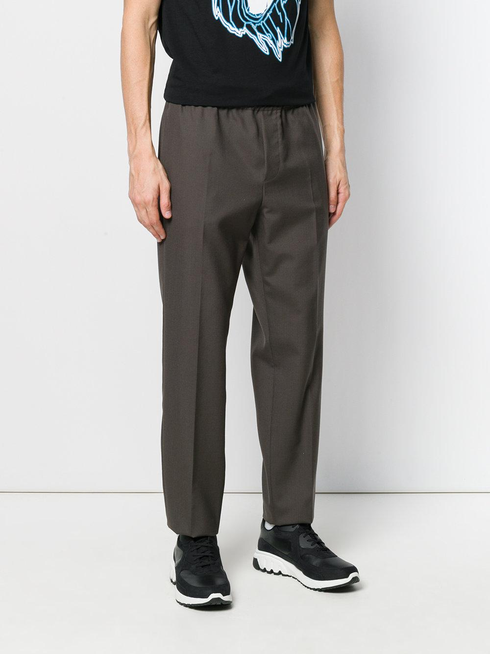 tailored track pants - Green Versus Lowest Price Y0IZ6