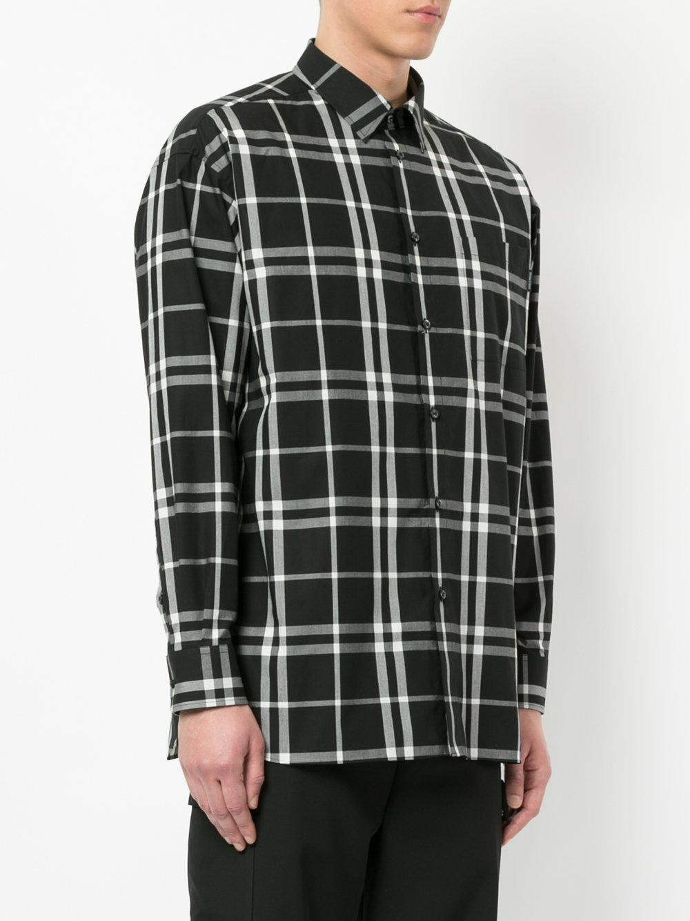 Professional Cheap Price Cheap Sale Outlet boxy plaid shirt - Black Guild Prime Get Authentic Cheap Online Buy Cheap Footlocker Finishline Quality Outlet Store LF0swtF1T